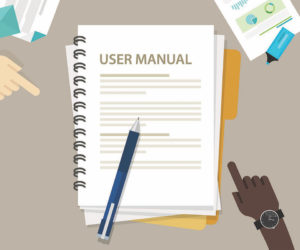 How to write a user manual